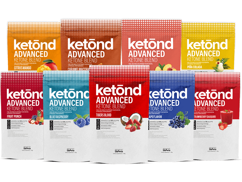 Ketone Supplement Flavors by Ketond