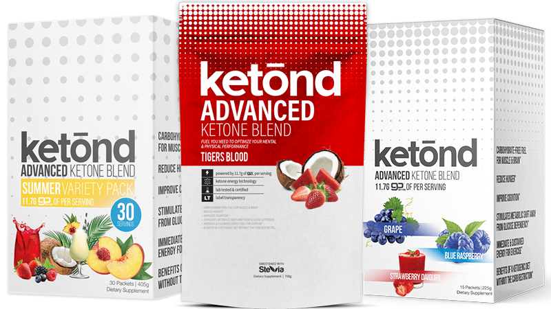 Ketond Advanced Blend 30ct, 15ct, and 30 serving bags